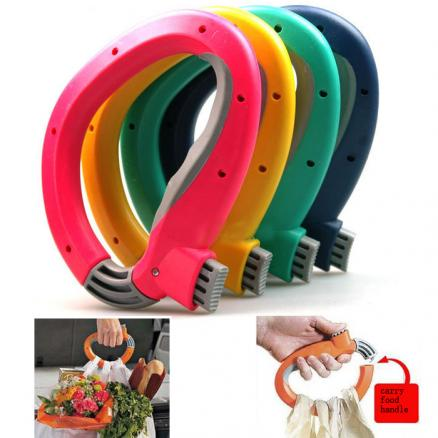 Shopping Grocery Bag Grip Labor-saving Bag Holder Carry Food Machine Handle
