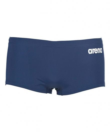 Плавки-шорты мужские Arena Solid Squared Short Navy/White 2A255 075