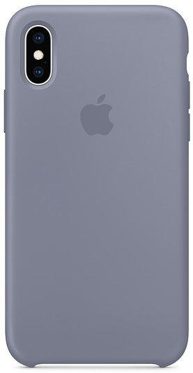 Apple Silicone Case Lavender Gray (MTFC2) for iPhone Xs
