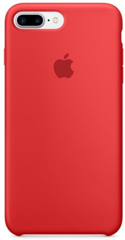 Apple Silicone Case (PRODUCT) Red (MMQV2/MQH12) for iPhone 8 Plus/iPhone 7 Plus