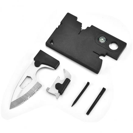 Tactical Pocket Knife Credit Card Tool Set Survival Wallet Tool Outdoor Knife (NLC-542479)