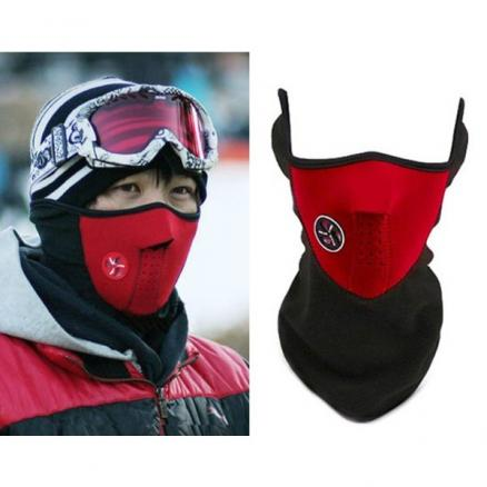 Cycling Sports/Outdoor Terry Patchwork Face Mask (DHA-286850)