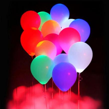 10Pcs LED Light Balloon for Wedding and Party Decoration (SBK-522961)