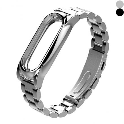 Miband 2 Stainless Steel Replacement Wrist Strap Magnetic Replacement Band (E-532888)