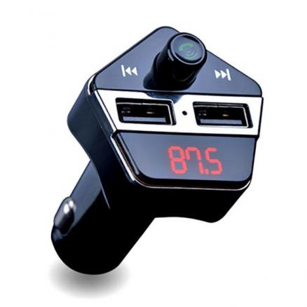 APE6 Car GPS Location FM Transmitter BT USB Charger MP3 Player Hands-free APP (RFM-539516)