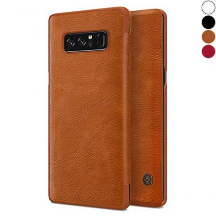 Nillkin QIN PU Leather Case Wallet Flip Cover for Samsung Galaxy Note 8 (EPA-533447)