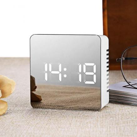 Multifunction Mirror Digital Alarm Clock (EDT-556498)