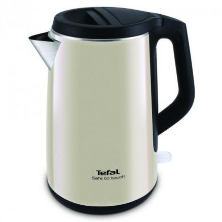 Чайник Tefal Safe to touch KO371I 2200 Вт 1,5 л бежевый KO371I30