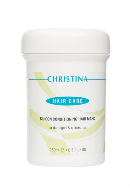 Silicon Condition Hair Mask for damaged & colored Hair