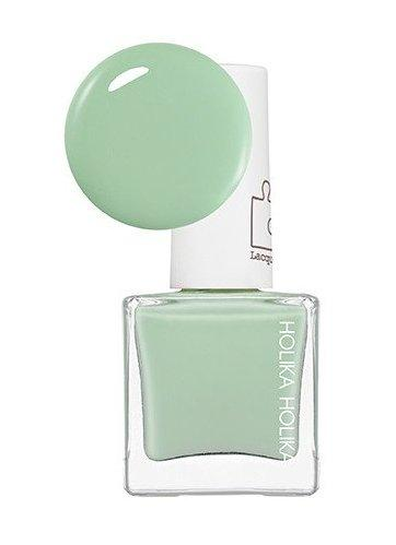 HOLIKA HOLIKA Лак для ногтей Пис Мэтчинг, GR05 мятный / Piece Matching Nails (SS-Lacquer) Greenery Garden 10 мл
