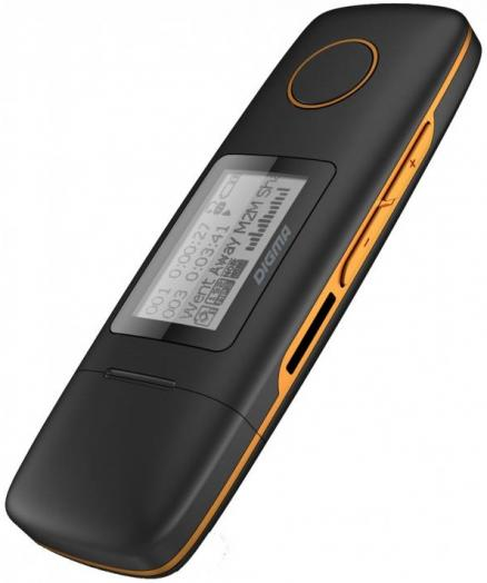 Digma U3 Black/Orange 4Gb