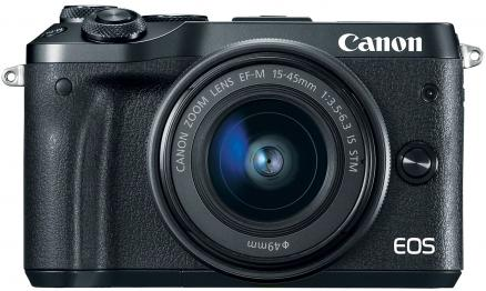 Canon EOS M6 Black Kit 15-45 (1724C012)
