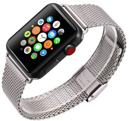 Ремешок COTEetCI (W23 Milanese Band for Apple Watch 38mm/40mm silver)