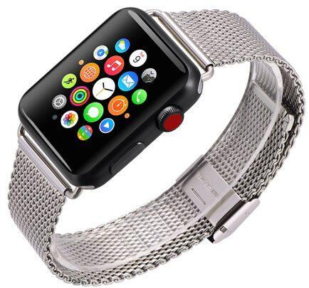 Ремешок COTEetCI (W23 Milanese Band for Apple Watch 42mm/44mm silver)