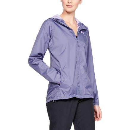 Женская ветровка Under Armour Forefront Rain 10K Full Zip Hooded 1321443-520
