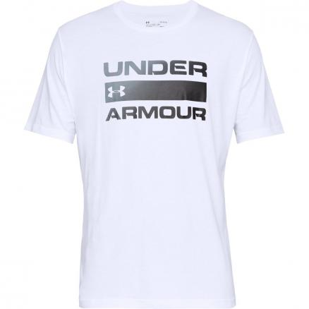 Мужская футболка Under Armour Team Issue Wordmark Graphic Charged Cotton ® SS 1329582-100