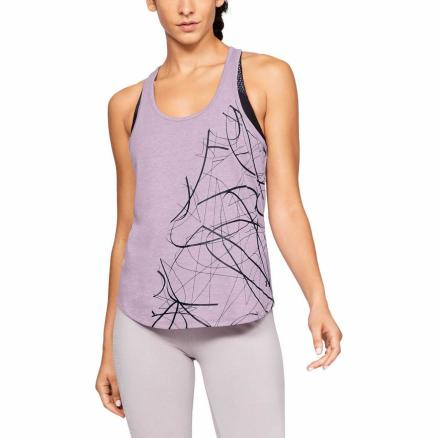 Женская майка Under Armour Abstract Graphic Crossback 1333198-521