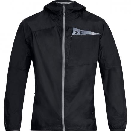 Мужская ветровка Under Armour Scrambler Hybrid Wind Hike Full Zip Hooded 1314609-001