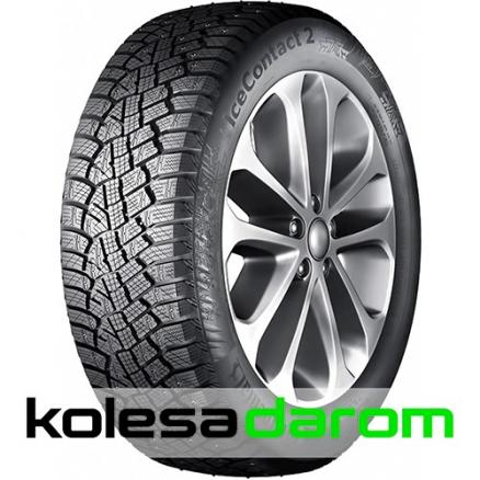 Шина Continental Ice Contact 2 SUV 215/65 R16 T 102 (Ice Contact 2 SUV 215/65 R16 102T Шипованные)
