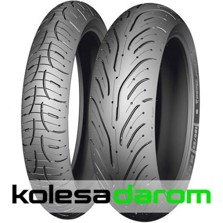 Мотошина Michelin Pilot Road 4 SC R15 160/60 67 H TL Задняя (Rear) (Pilot Road 4 SC 160/60 R15 67H)