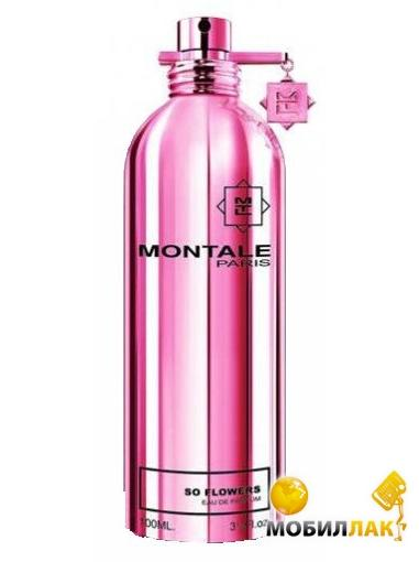 Парфюмированная вода Montale So Flowers lady 100ml (Montale So Flowers lady 100ml edp)
