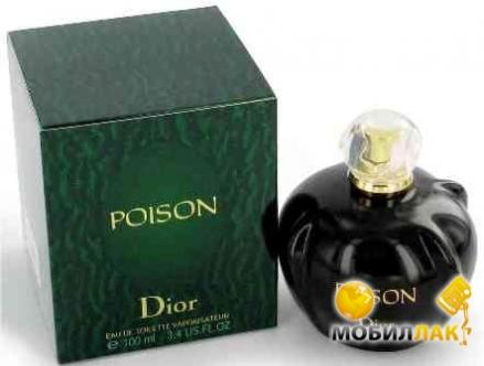 Туалетная вода Christian Dior Poison lady test 100ml