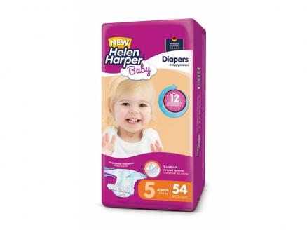 Подгузники Helen Harper Baby Junior (11-18 кг) 54 шт.