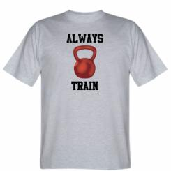 Футболка Always train