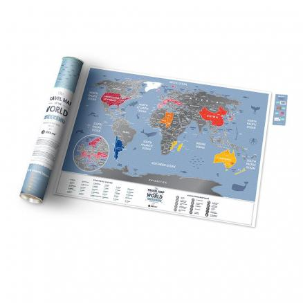 Карта travel map weekend world, 1DEA.me (Travel map)