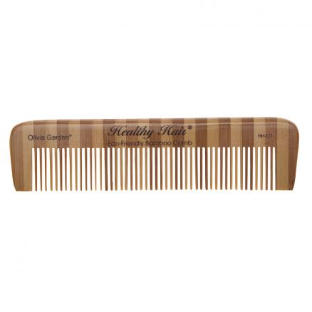 Гребни Olivia Garden (Гребень Olivia Garden OGBHHC1 Healthy Hair comb 1 Бамбуковый)