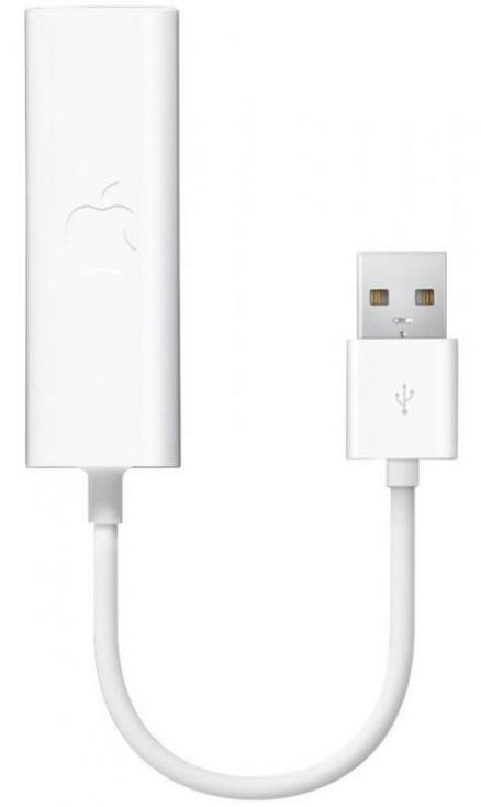Apple USB Ethernet MC704ZM/A (белый)