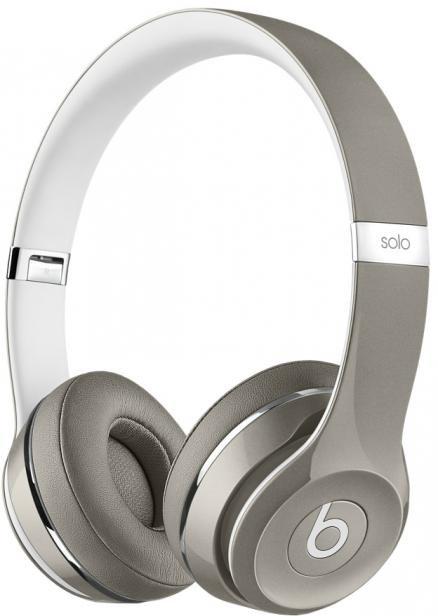 Beats Solo2 Luxe Edition (серебристый)