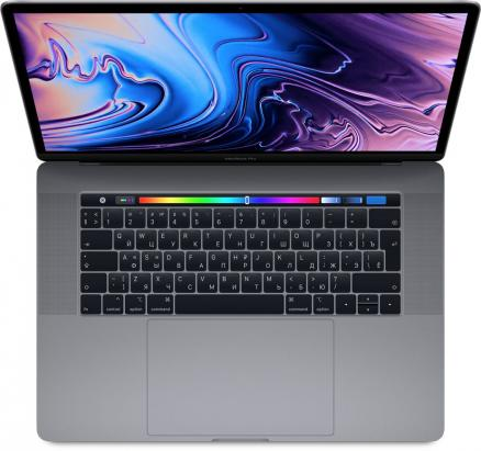 "Apple MacBook Pro 15"" 512GB Touch Bar (серый космос) (MacBook Pro 15 with Retina display Mid 2018 (Intel Core i7 2600 MHz/15.4""/2880x1800/16GB/512GB SSD/DVD нет/AMD Radeon Pro 560X/Wi-Fi/Bluetooth/macOS))"