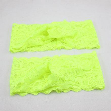 Mom Girl Lace Elastic Hairbands By Pair (3441041)