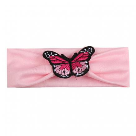 Fashion Baby Girls Butterfly Decorated Headband (3706948)