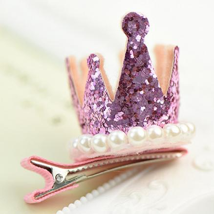 Baby Beads Crown Hairpin (3554614)