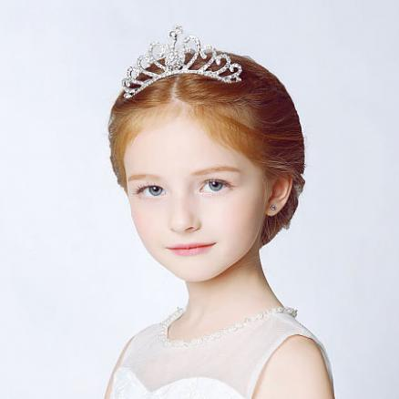 Rhinestone Decorated Princess Hair Accessories (4404843)