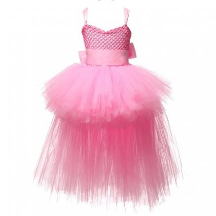 Bowknot Decorated Tulle Cami Dress (4195245)