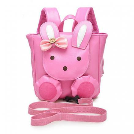 Bunny Style Bowkont Decorated Backpack (3887560)