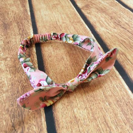 Floral Bunny Ear Hair Accessory (3446334)