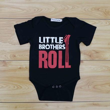 Little Brothers Boys Handsome Romper (3551901)