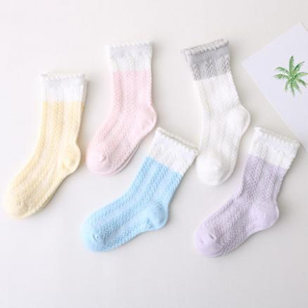 Boys Girls Cotton Socks By Five Pairs (3556123)