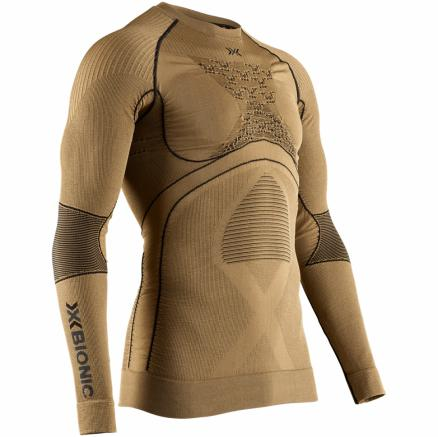 Термкофта мужская X-BIONIC X-Bionic® Radiactor 4.0 Shirt Round Neck Lg Sl Men Gold/Black 2020