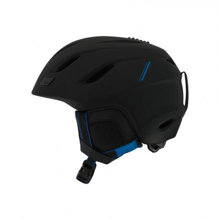Горнолыжный шлем GIRO Nine Matte Black/Blue Sport Tech