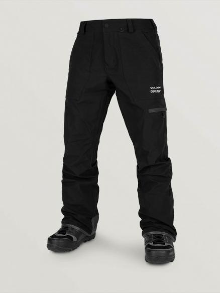 Штаны для сноуборда мужские VOLCOM Stretch Gore-Tex Pant Black