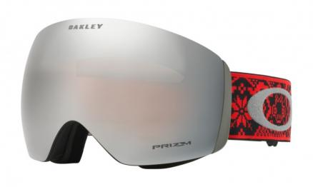 Маска горнолыжная OAKLEY FLight Deck Shred Bots Iron Rose/Prizm Black Iridium