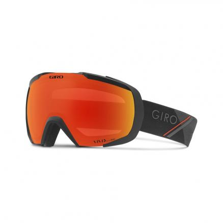 Маска Горнолыжная GIRO Onset Black/Red Sport Tech/ Vivid Ember 37