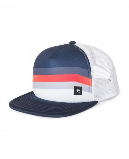 Бейсболка RIP CURL React Trucker Cap Optical White (Neesh, React Trucker Cap)