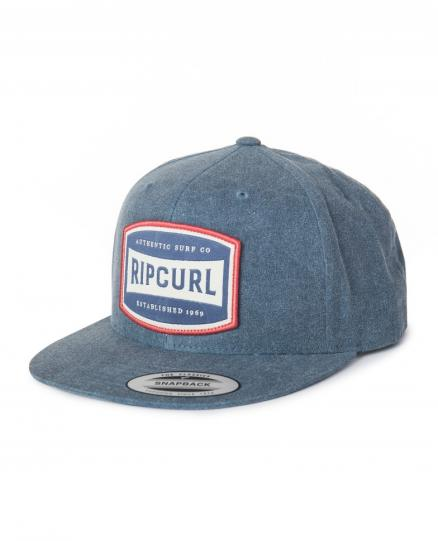 Бейсболка RIP CURL Authentic Snapback Cap Blue Indigo (Yepa, Authentic Snapback Cap)