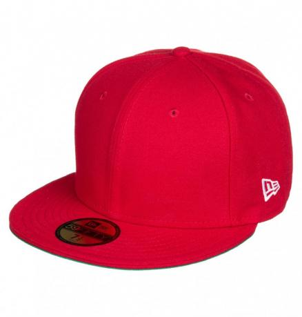 Кепка-бейсболка DC SHOES Skate Fitted Ha Tango Red